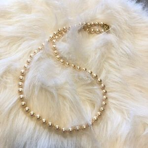 Monet Pearl Necklace